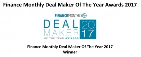 Finance Monthly Deal MakerOf The Year Awards 2017 - STELLA MONFREDINI